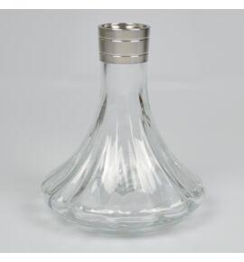 Aladin MVP 360 vízipipa üveg - átlátszó mintás