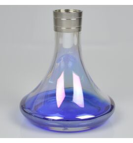 Aladin MVP 360 vízipipa üveg - kék-átlátszó