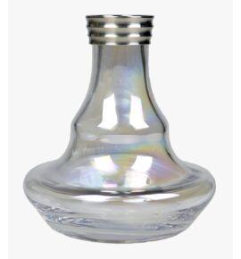 Aladin MVP 370 vízipipa üveg - átlátszó