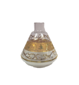El Nefes Bohemian Bakkar vízipipa üveg - átlátszó