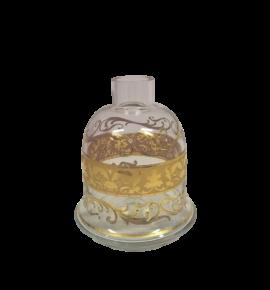 El Nefes Bohemian Kafur vízipipa üveg - átlátszó