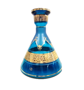 El Nefes Bohemian Khurafa vízipipa üveg - türkiz