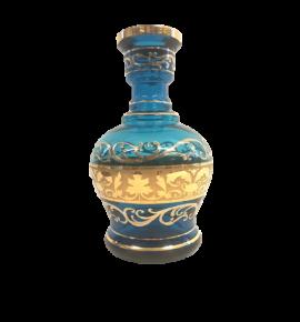 El Nefes Bohemian Nadim vízipipa üveg - türkiz