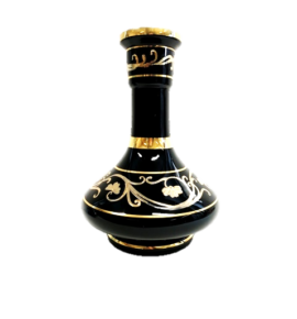 El Nefes Bohemian Sindbad vízipipa üveg - fekete