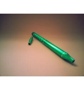 Alumínium szívóvég ICE + konnector szett - zöld