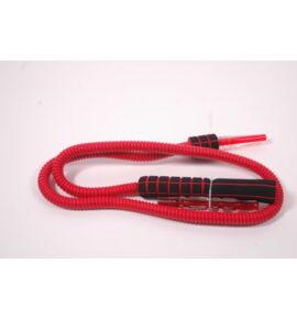 Hookah Pro Grip mosható szívócső - piros