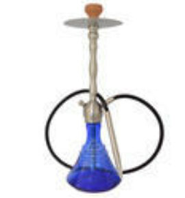 Narikela5 vízipipa - kék