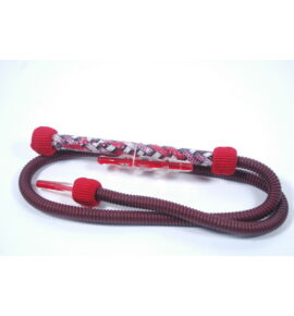 Patterned Nammor mosható cső - piros