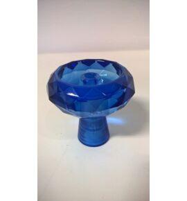 Diamond üveg dohánytölcsér - zafír