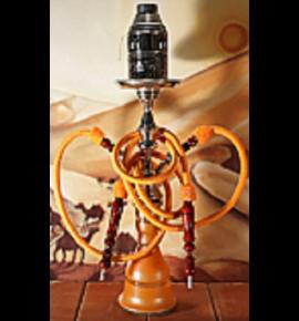 Top Mark vízipipa - 71 cm - 2 csõvel - narancssárga