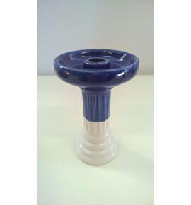 El Nefes porcelán dohánytölcsér - kék-fehér  (108)
