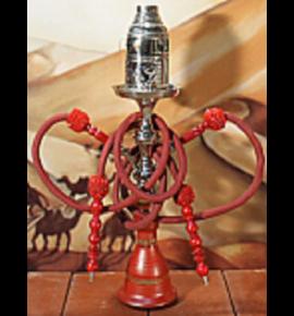 Top Mark vízipipa - 55 cm - 2 csõvel - piros