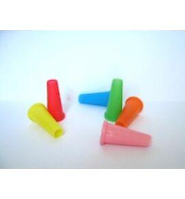 színes szipka - csőre helyezhető - 10 darab