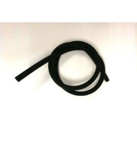 Hookah Flame matt szilikon cső - fekete