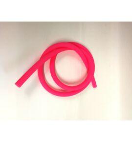 Hookah Flame matt szilikon cső - rózsaszín