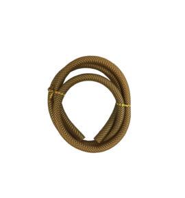 Hookah Flame mintás szilikon cső - arany