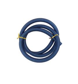 Hookah Flame mintás szilikon cső - kék