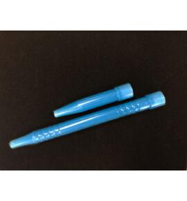 Hookah Flame Padavan Acril szívóvég+konnektor szett - kék
