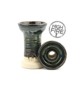 HC HighFire Strip vízipipa kerámia - kaméleon