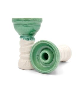 Helium Bowl Small SE vízipipa kerámia - zöld