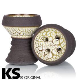 KS APPO ICE Edition vízipipa kerámia - barna