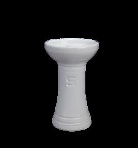 Sahlar Mini Phunnel Medium vízipipa kerámia moderrel - fehér