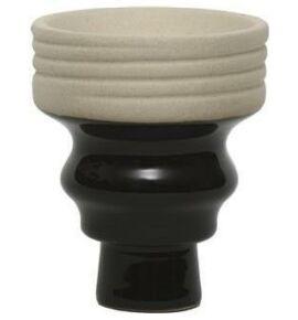 Mya Bewel bowl vízipipa kerámia - fekete