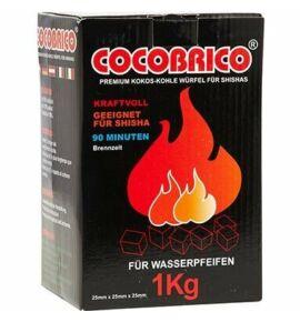 Cocobrico kókusz szén C25 - 1 kg