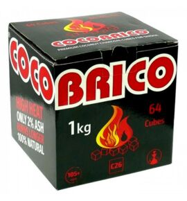 Cocobrico kókusz vízipipa szén C26 - 1 kg