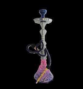 Aladin Kairo2 vízipipa - lila-rózsaszín