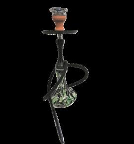 Hookah Flame Smokestack vízipipa szett - fekete