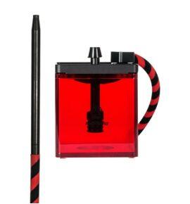 MS Micro vízipipa piros-fekete