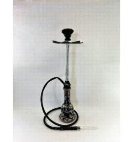 Tahta Lanceolate vízipipa szett - fekete-ezüst