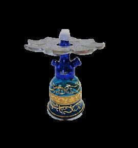 Tahta Mini Beast vízipipa Kafur üveggel - türkiz