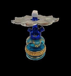 Tahta Mini Beast vízipipa Shiraz üveggel - türkiz