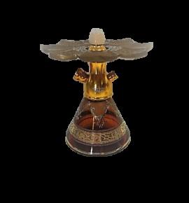 Tahta Mini Beast vízipipa Aswad üveggel - borostyán