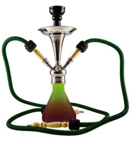 Aladin ROY8 vízipipa - barna/zöld
