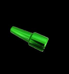 Premium csőkonnektor - zöld