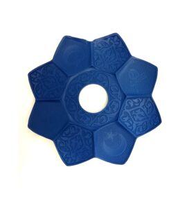 Sultan Alumínium vízipipatálca - kék