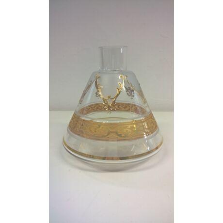 El Nefes Bohemian Aswad vízipipa üveg - átlátszó