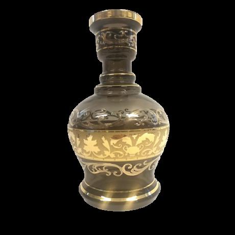 El Nefes Bohemian Nadim vízipipa üveg - szürke