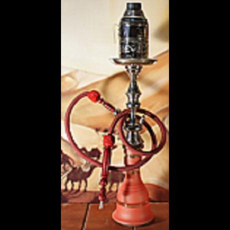 Top Mark vízipipa - 71 cm - piros