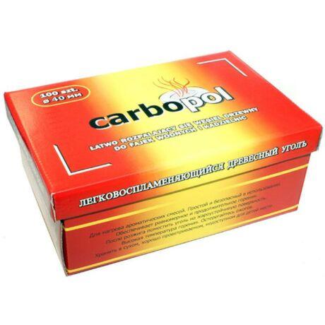 Carbopol faszén (40 mm) - 100 darabos csomag