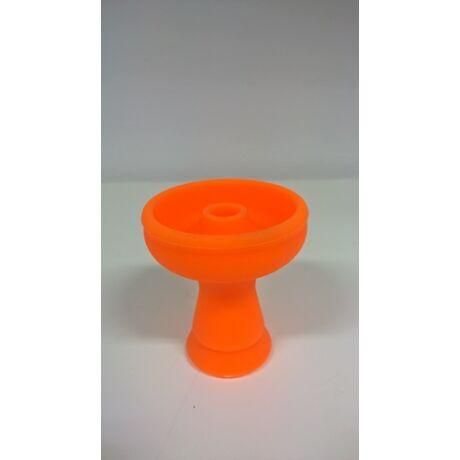 Hookah Flame szilikon phunnel dohánytölcsér - narancssárga