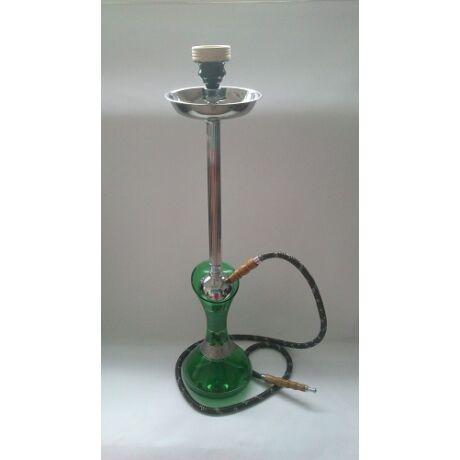Mya Olla vízipipa - zöld-ezüst