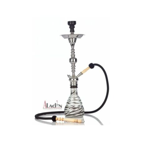Aladin Zebra vízipipa - 75 cm - fekete