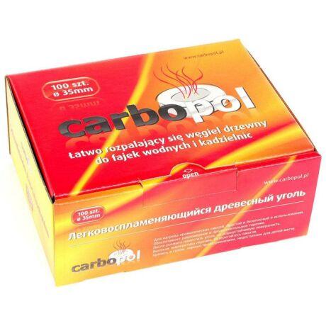 Carbopol faszén (35 mm) - 100 darabos csomag