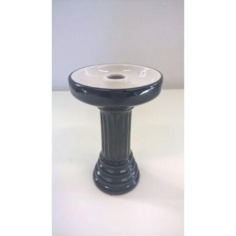 El Nefes porcelán dohánytölcsér - fekete-fehér (109)