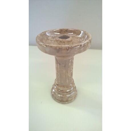El Nefes porcelán vízipipa kerámia - márvány-barna (102)