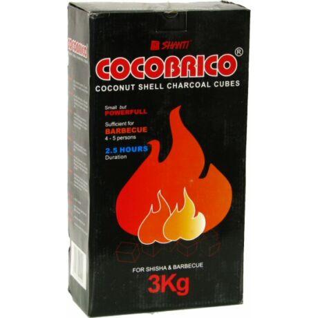 Cocobrico kókusz vízipipa szén - 3 kg